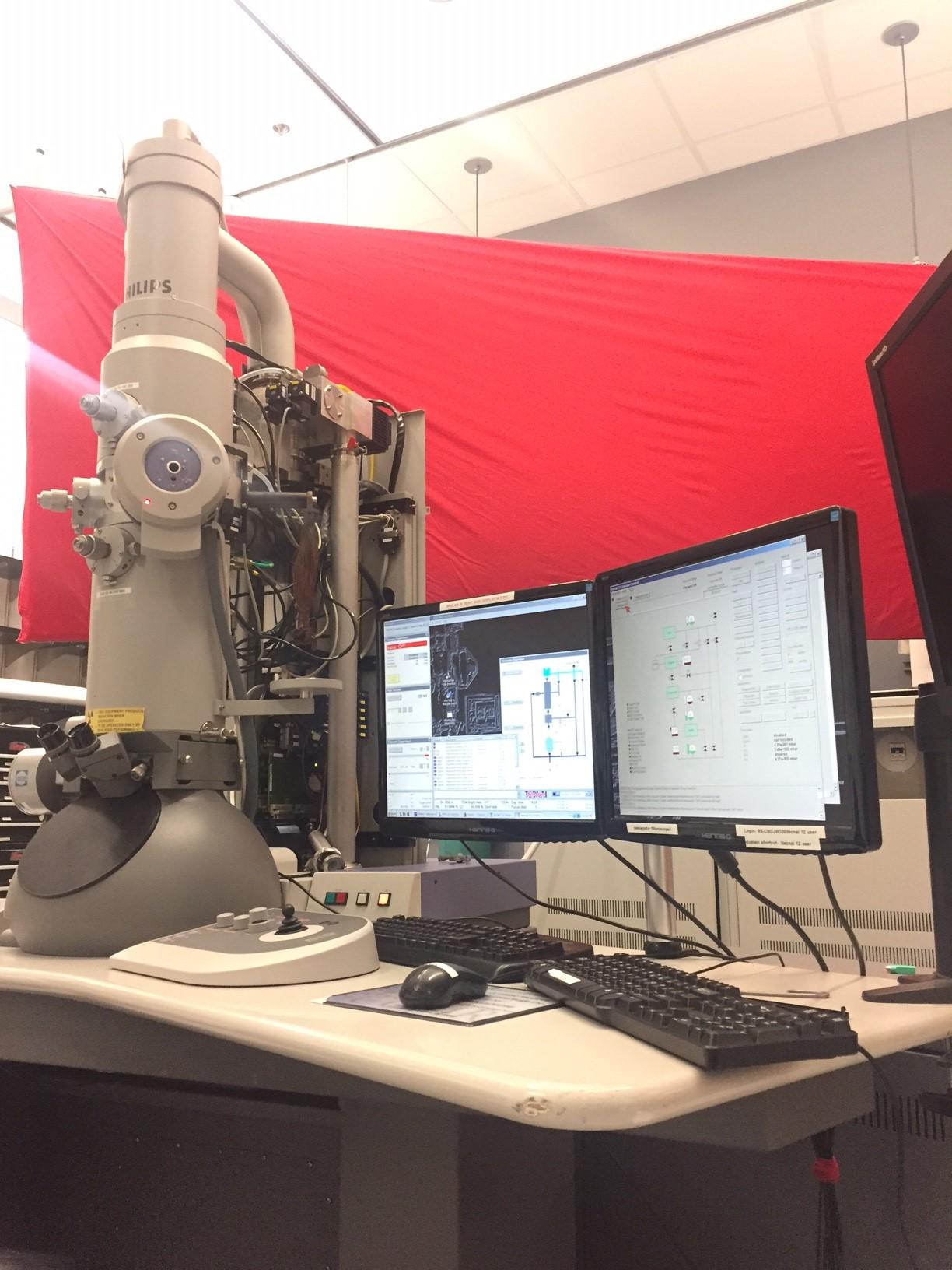 Cornell Center for Materials Research - FEI Tecnai 12