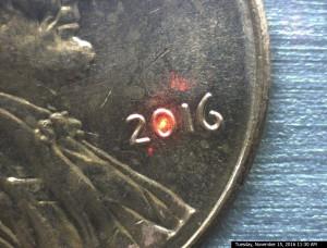 penny w laser